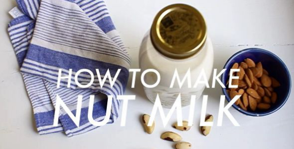 Homemade Raw Nut Milk