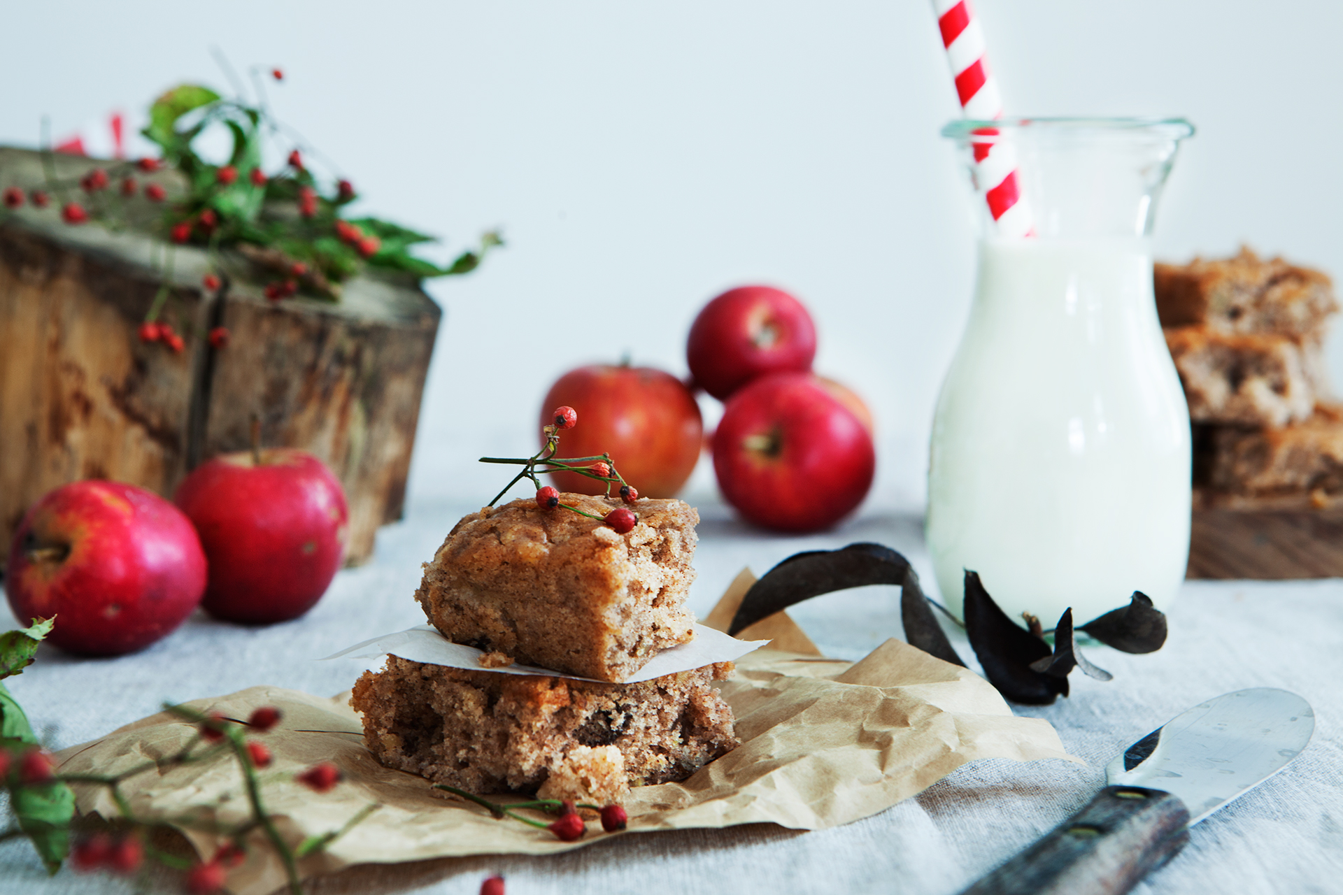 Recipe: Apple Brownies