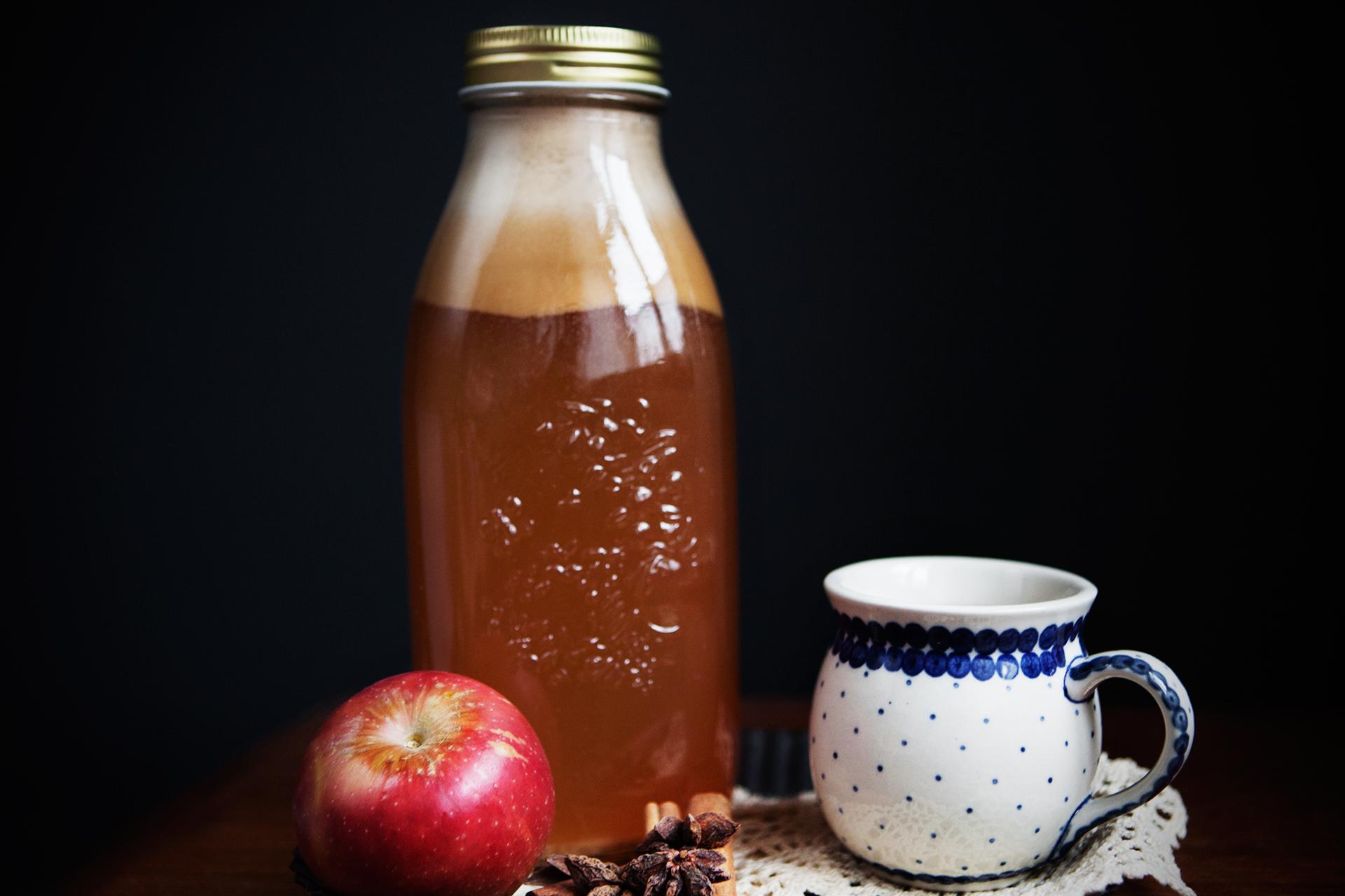 Hot Spiced Cider With Calvados Recipe — Dishmaps