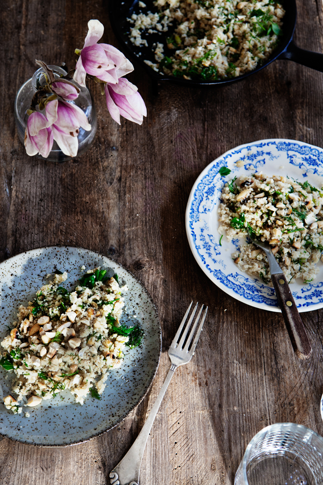 Cauliflower CousCous Recipe by Modern Wifestyle