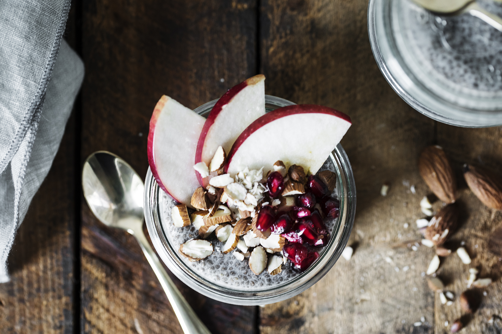Recipe: Chia Pudding with Coconut and Apple