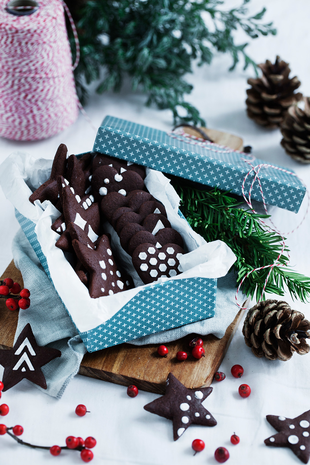 Chocolate Gingerbread Cookies. Perfect for the holidays! #modernwifestyle