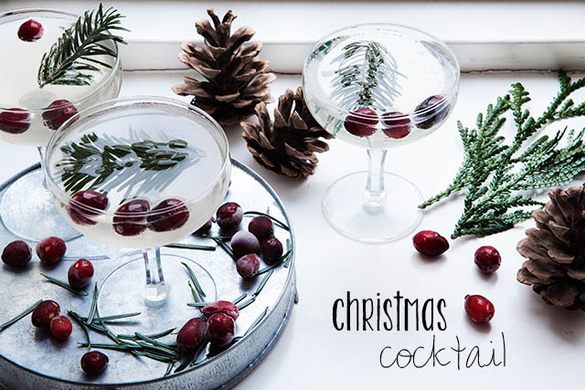 Christmas Cocktail from Modern Wifestyle