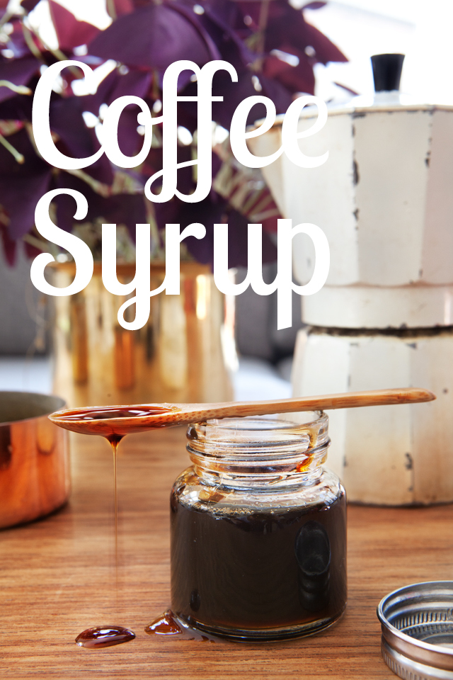 Recipe: Coffee Syrup