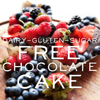 Dairy Gluten and Sugar Free Chocolate Cake Recipe