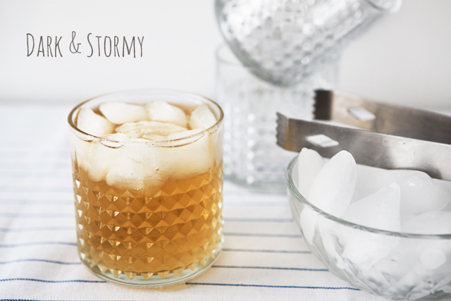 Recipe: Dark N' Stormy