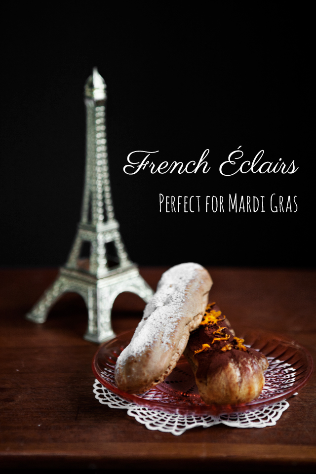 French Éclairs - Recipe