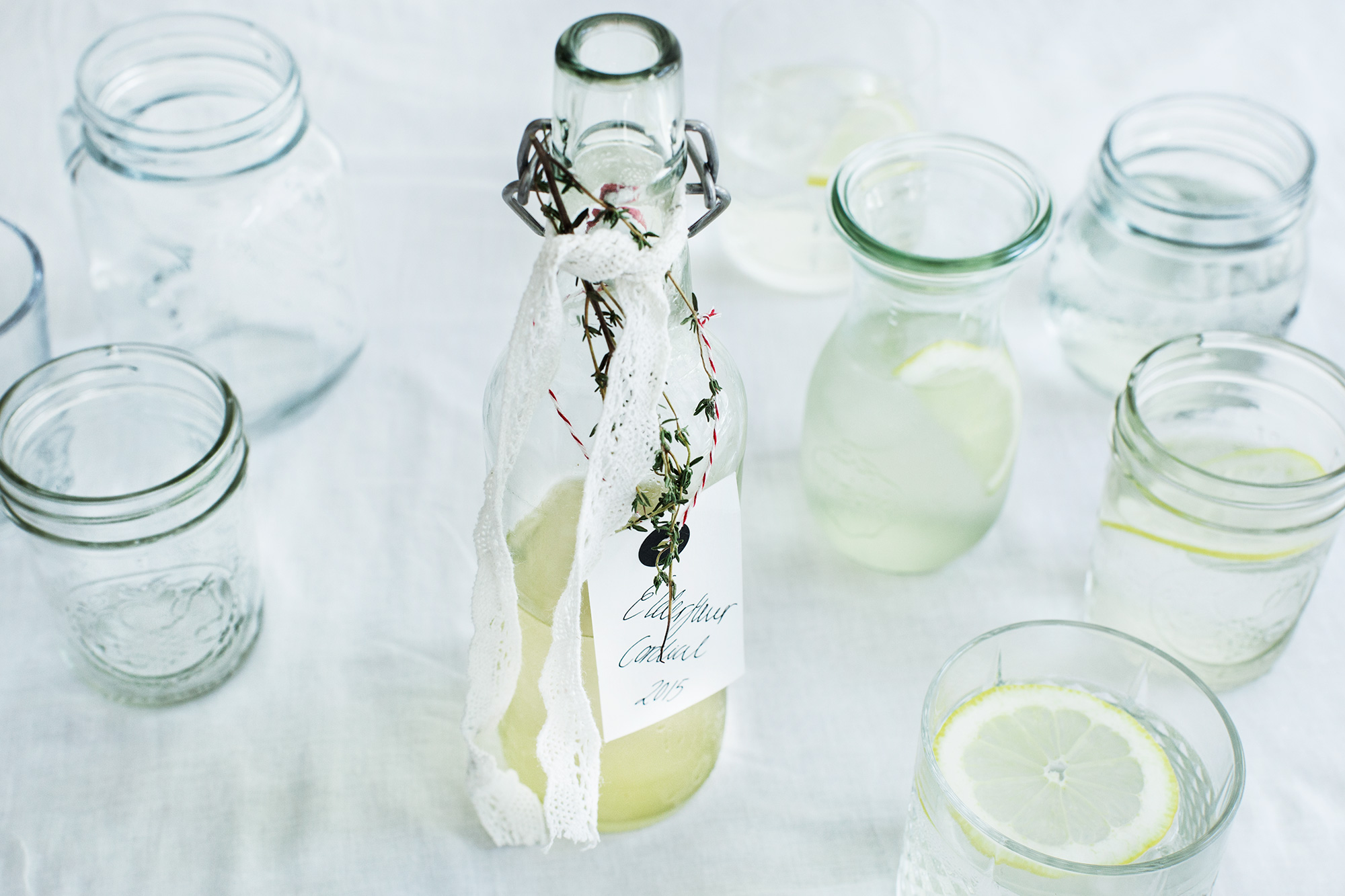Recipe: Elderflower Cordial