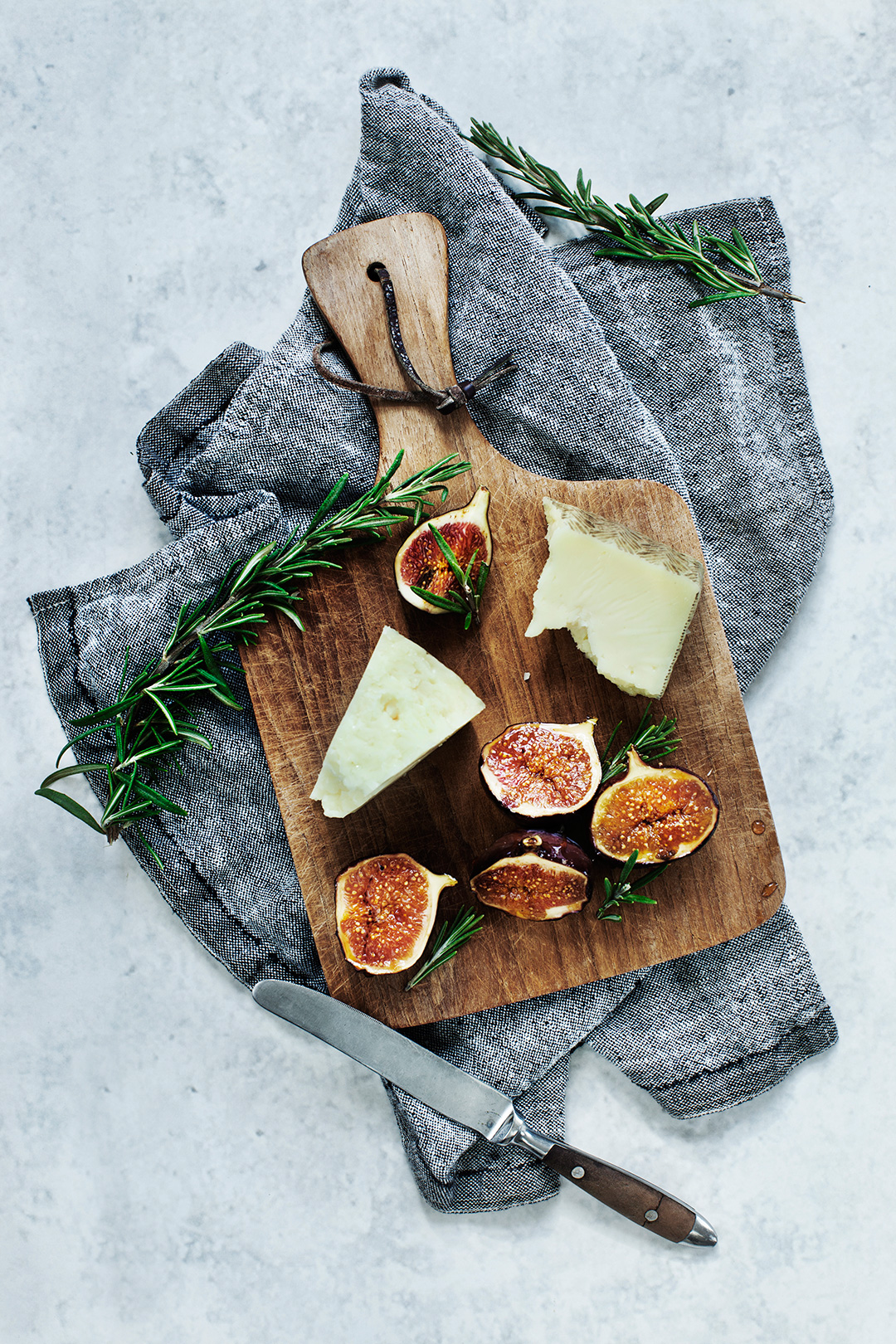 & Braised Figs with Cheese | Modern Wifestyle