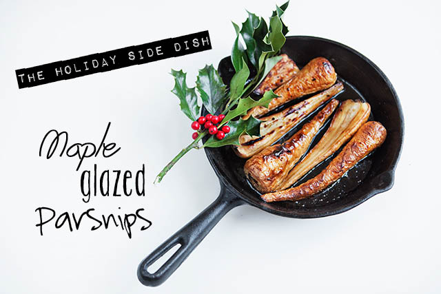 Parsnips Holiday Side Dish