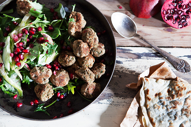Recipe: Middle Eastern Meatballs with Ramsons