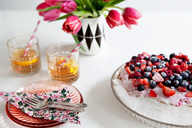 The Elegant Pavlova - Recipe