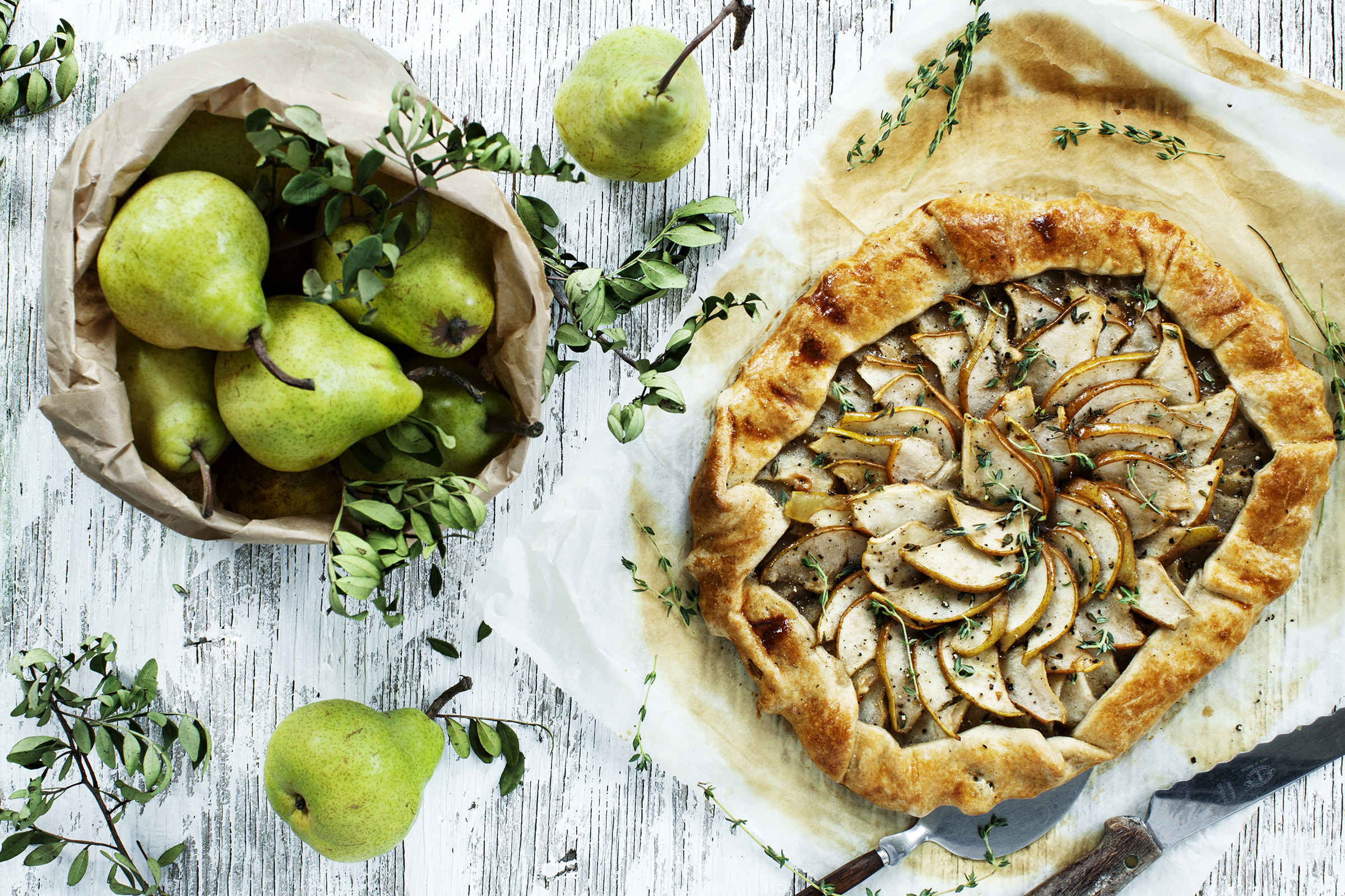 Recipe: Pear Galette
