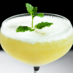Flirtini - Vodka, Pineapple Juice and Champagne. Perfect drink for spring