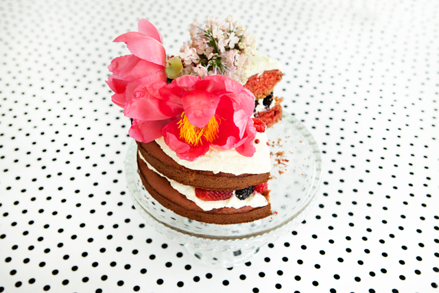 Pink Pepper Cake Recipe