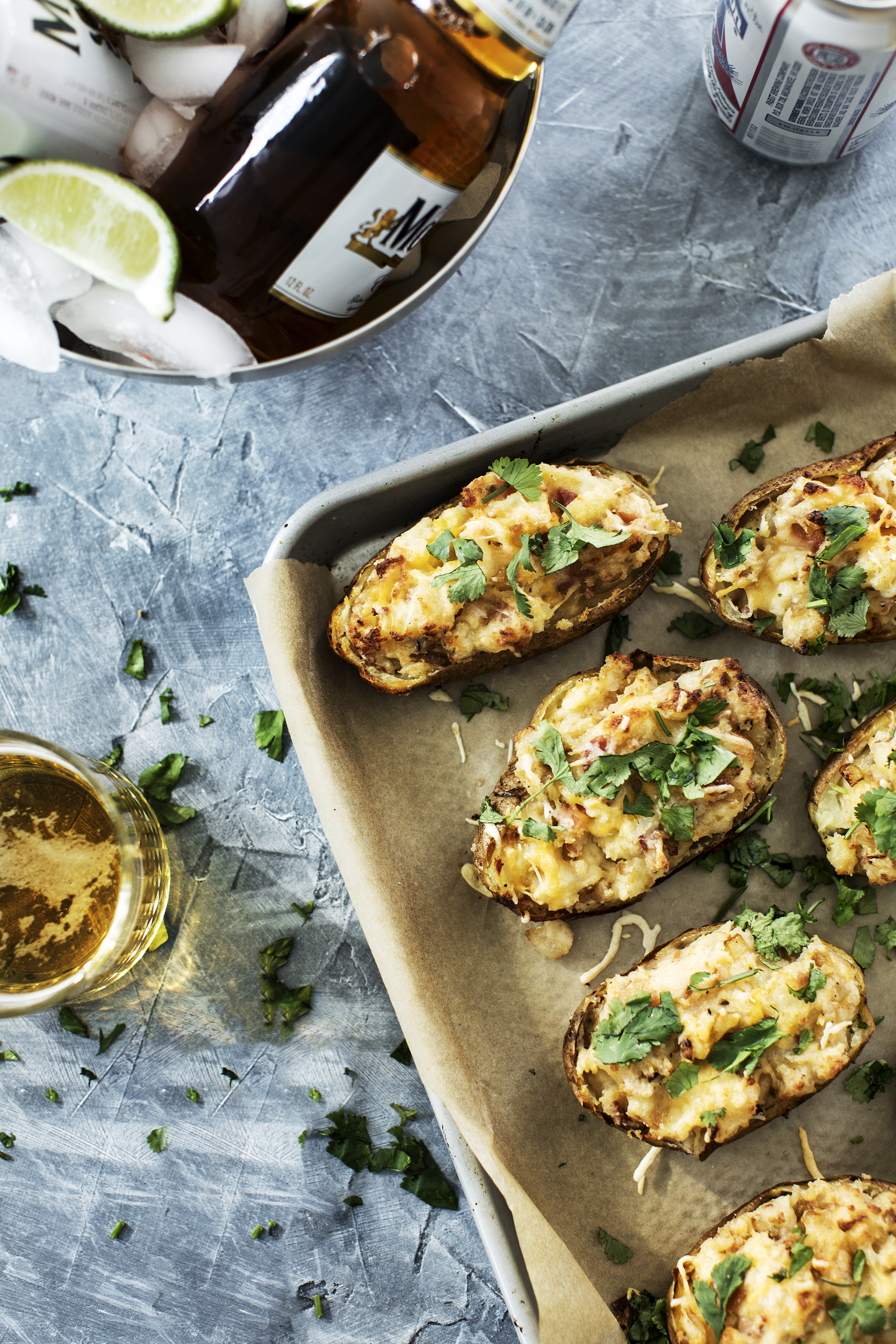 Potato Skins Recipe Modern Wifestyle