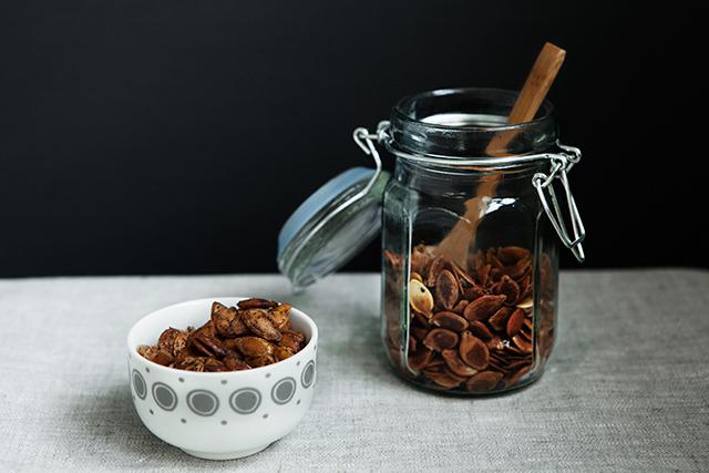 Recipe: Roasted Pumpkin Seeds