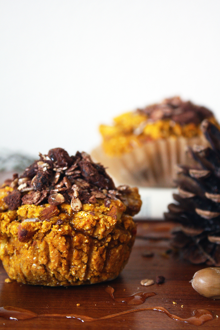 Pumpkin Muffin Recipe - Image by © Food Bandits