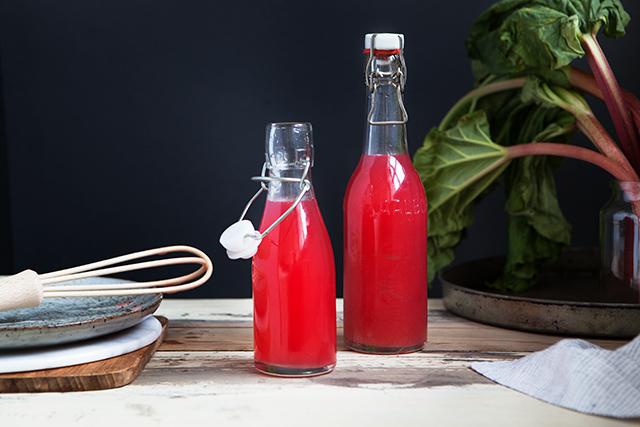 Rhubarb Syrup Recipe   Modern Wifestyle