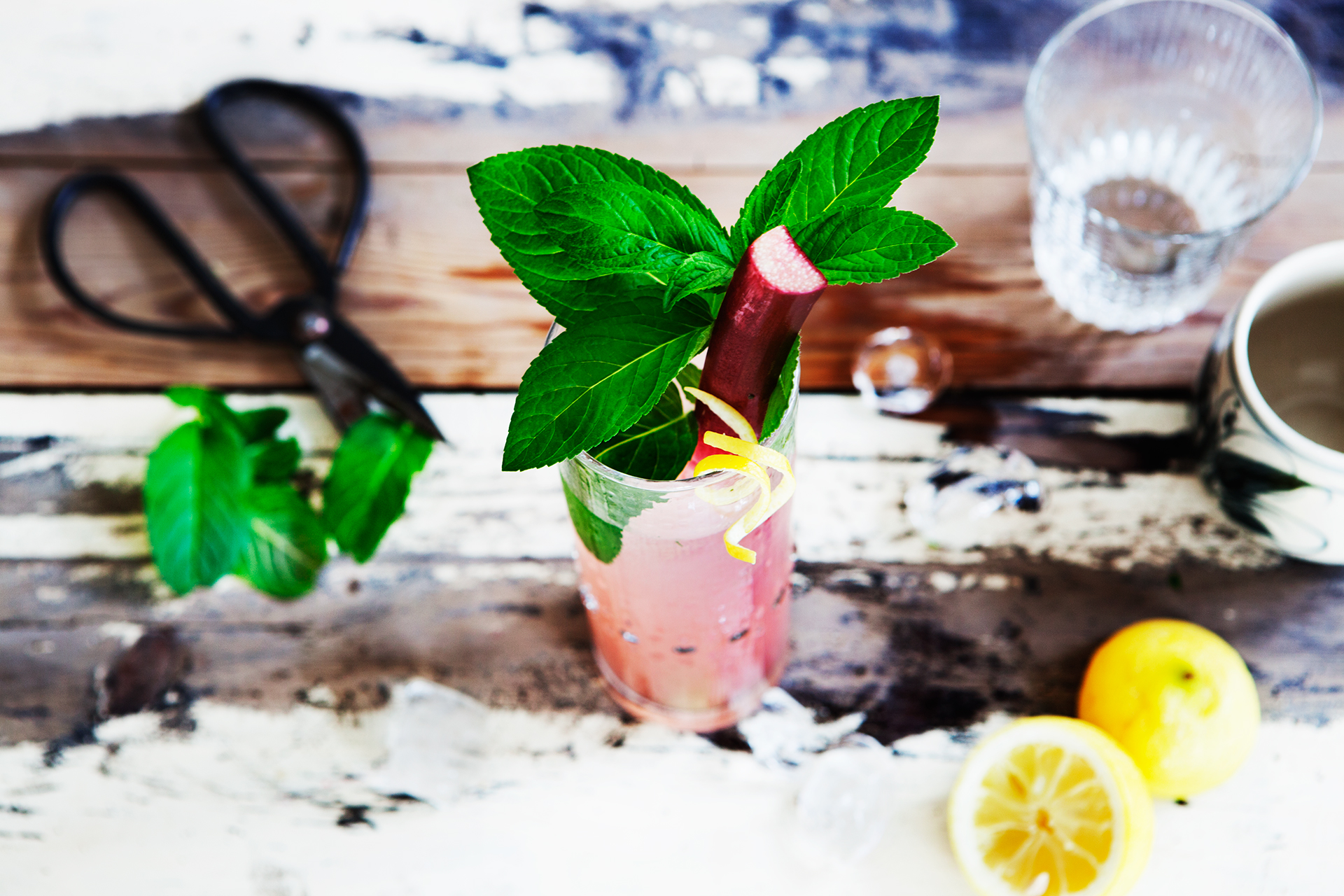 Recipe: Rhubarb Collins