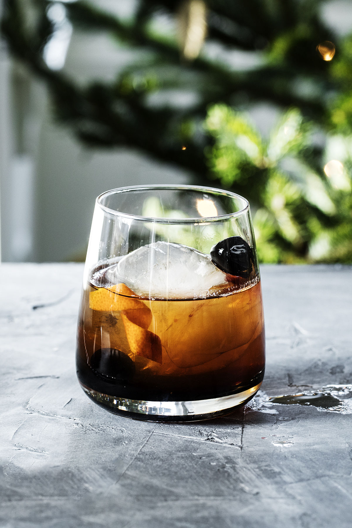 Recipe: Spiced Old Fashioned