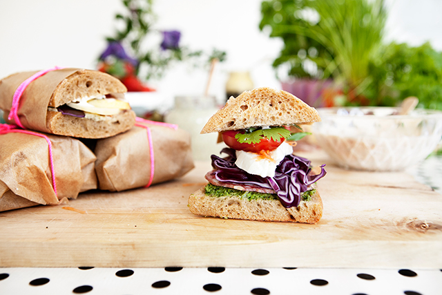 Surprise Summer Sandwiches for the Picnic