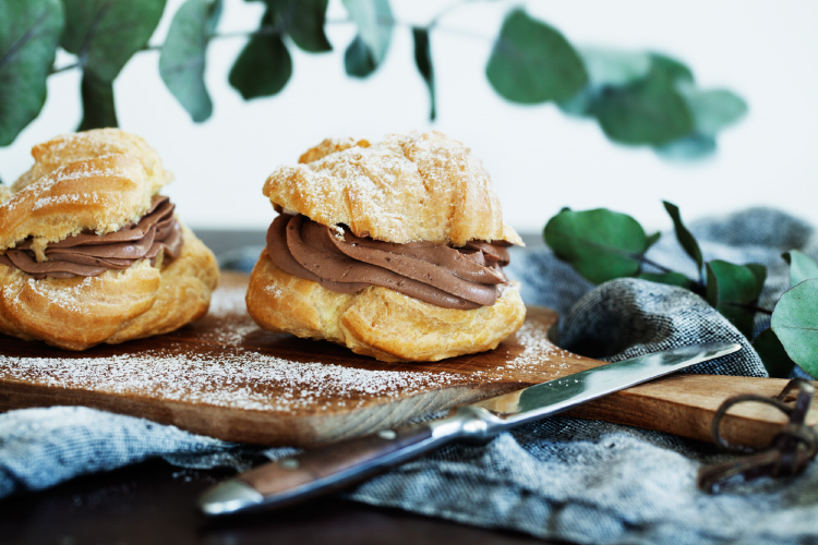 Recipe: Large Profiteroles