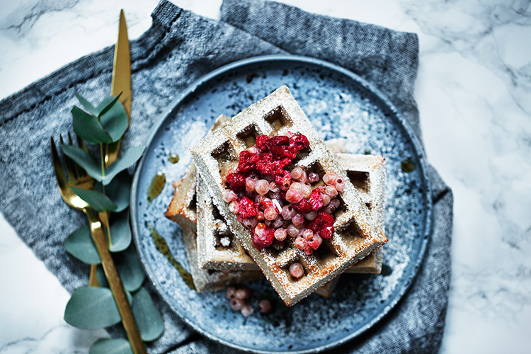Recipe: Buckwheat Waffles