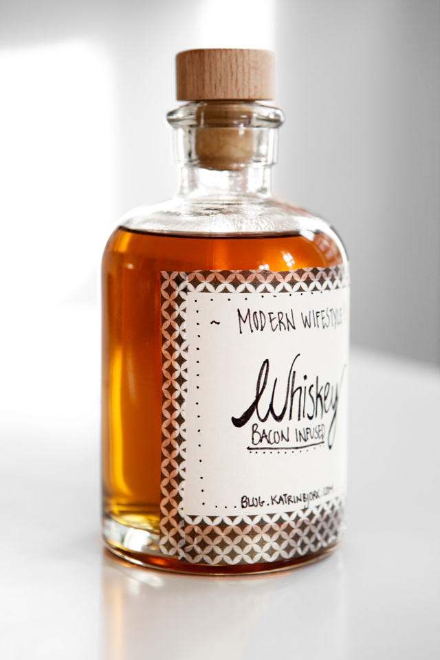 Recipe: Bacon Infused Whiskey